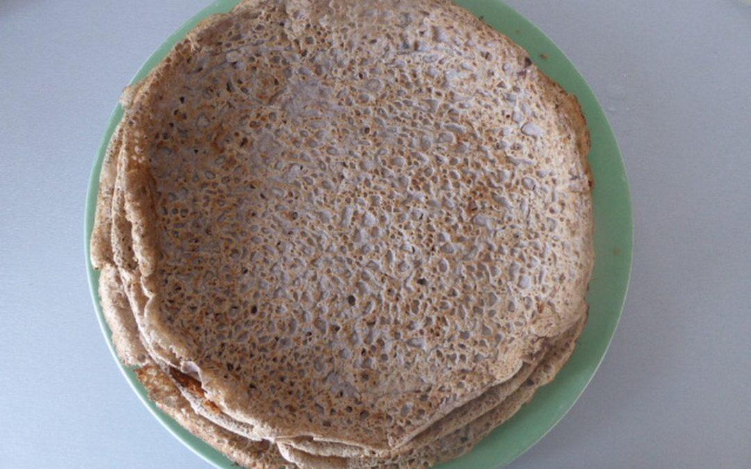 Galette de sarrasin ou blé noir (sans gluten)