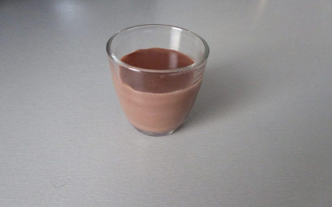 Crème au chocolat style danette sans gluten