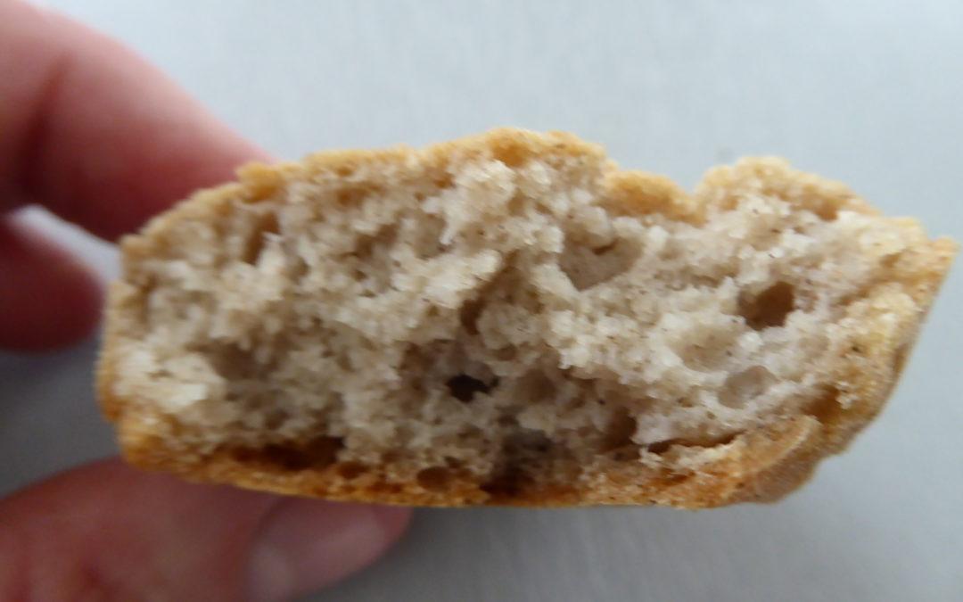 Le pain sans gluten moelleux