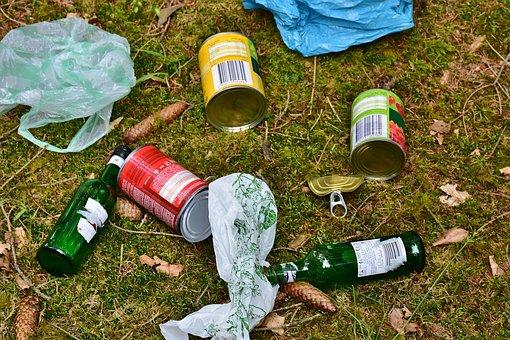 Coup de gueule face aux déchets retrouvés dans nos villes et campagnes.
