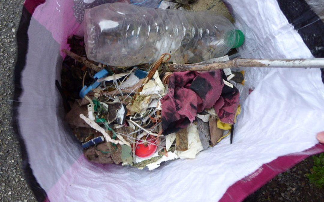 Bilan de ma deuxième promenade ramassage de déchets