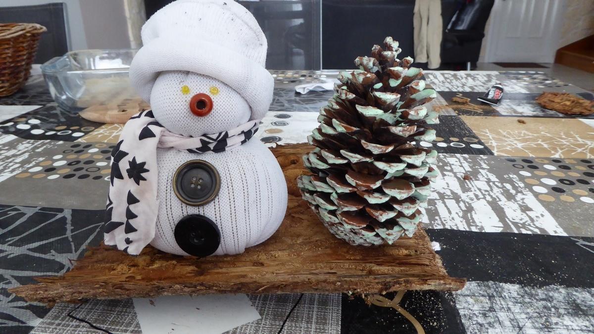 faire un bonhomme de neige avec une chaussette - terre agir