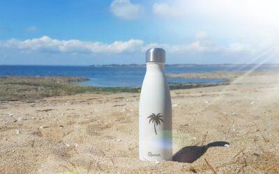 la bouteille isotherme Qwetch, indispensable pour l'été