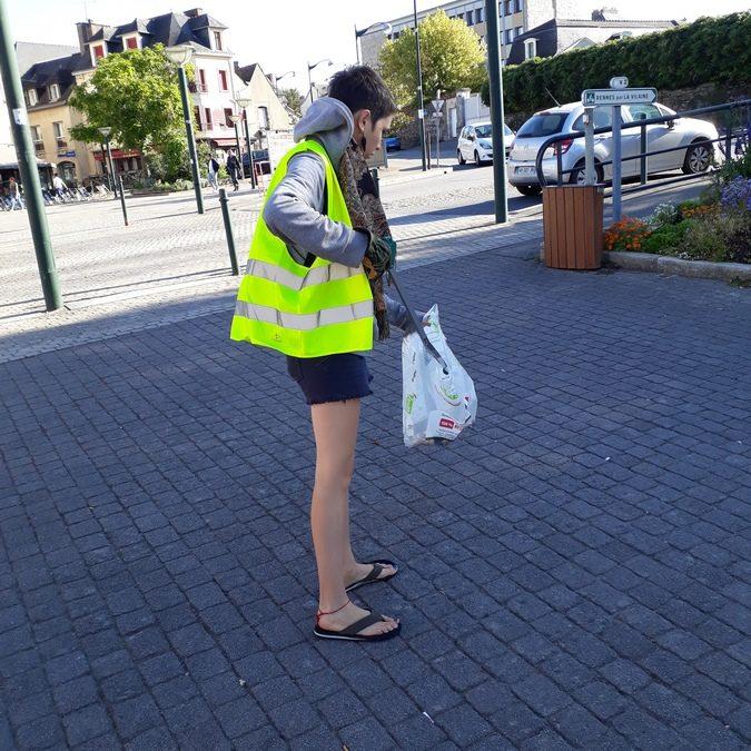 Le 15 septembre nous avons nettoyé la ville de Redon