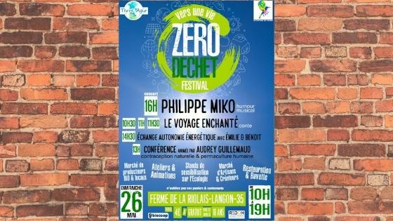 Le 1er festival «Vers une vie zéro déchet»: le programme