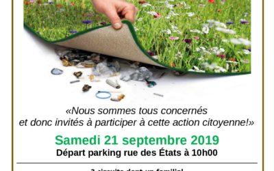 Nettoyons notre ville de Redon le 21 septembre 2019